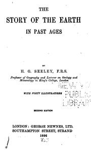 Cover of: The Story of the Earth in Past Ages by Harry Govier Seeley