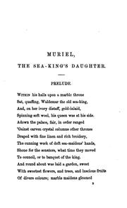 Cover of: MURIEL by FREDERICK EDWARS WEATHERLY