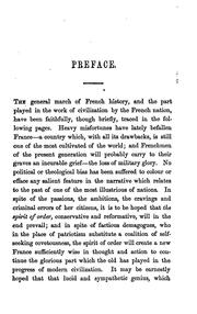 Cover of: History of France for junior classes by Sutherland Menzies