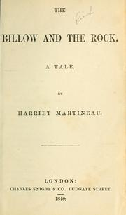 Cover of: The Billow and the Rock by Martineau, Harriet
