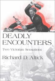 Cover of: Deadly Encounters | Richard D. Altick