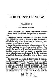 Cover of: The Point of View by Martha Dickinson Bianchi