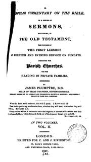 A popular commentary on the Bible, in a ser. of sermons