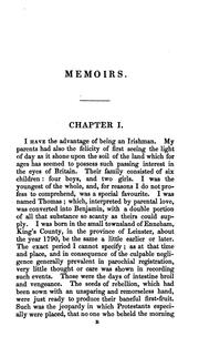 Cover of: Memoirs of a sergeant, late in the forty-third light infantry regiment ... during the Peninsular war by Memoirs