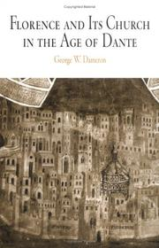 Cover of: Florence And Its Church In The Age Of Dante (Middle Ages Series) | George Williamson Dameron