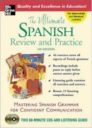 Cover of: The Ultimate Spanish Review & Practice (2CDs + Guide) (Uitimate Review & Reference) | Ronni L. Gordon