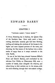 Cover of: Edward Barry: South Sea Pearler by Louis Becke