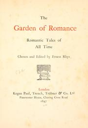Cover of: The garden of romance | Rhys, Ernest