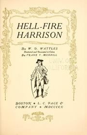 Cover of: Hell-fire Harrison | Wallace D. Wattles