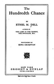 Cover of: The Hundredth Chance by Ethel M. Dell