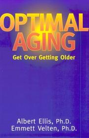 Cover of: Optimal aging | Albert Ellis