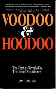 Cover of: Voodoo and Hoodoo | Jim Haskins