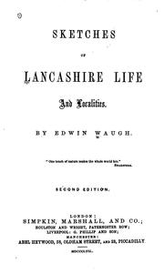 Cover of: Sketches of Lancashire Life and Localities by Edwin Waugh