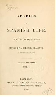Cover of: Stories of Spanish life by Victor Aimé Huber