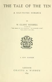 Cover of: The tale of the ten | William Clark Russell
