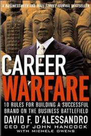 Cover of: Career Warfare by D'Alessandro