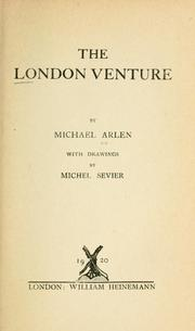 Cover of: The London venture | Michael Arlen
