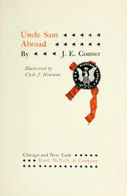 Cover of: Uncle Sam abroad | Jacob Elon Conner