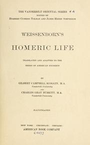 Weissenborn's Homeric life