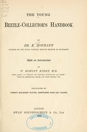 Cover of: The young beetle-collector's handbook by Ernst Hofmann