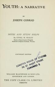 Cover of: Youth: a narrative | Joseph Conrad