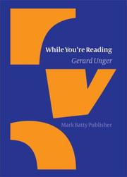 Cover of: While you're reading | Gerard Unger