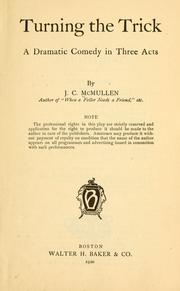 Cover of: Turning the trick by J. C. McMullen