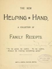 Cover of: The new helping hand | Stone, Elizabeth Mrs