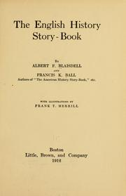 Cover of: The English history story-book | Albert Franklin Blaisdell