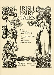 Cover of: Irish fairy tales | James Stephens