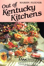 Cover of: Out of Kentucky kitchens | Flexner, Marion W.