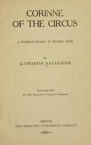Cover of: Corinne of the circus | Katharine Kavanaugh