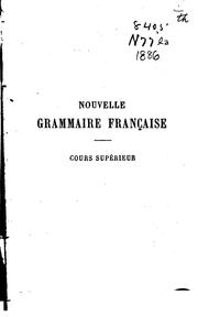 Cover of: Langue française by François Noël