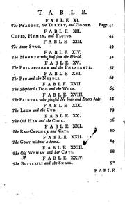 Cover of: Fables by John Gay
