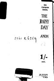 Cover of: The rainy day | Harold Begbie