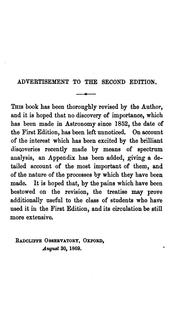 Cover of: Rudimentary astronomy by Robert Main