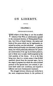 Cover of: On Liberty | John Stuart Mill