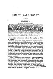 Cover of: How to make money by Edwin Troxell Freedley