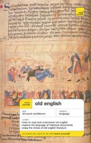 Cover of: Teach Yourself Old English Package | Mark Atherton