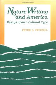 Cover of: Nature writing and America by Peter A. Fritzell