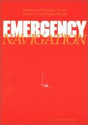 Cover of: Emergency Navigation by David Burch