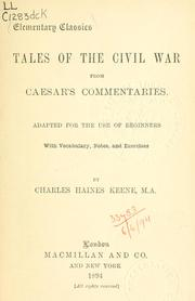 Cover of: De bello civili by Julius Caesar
