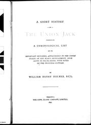 Cover of: A short history of the Union Jack | Holmes, William Henry