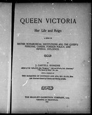 Cover of: Queen Victoria | J. Castell Hopkins