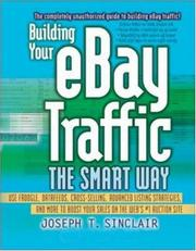 Cover of: Building Your eBay Traffic the Smart Way | Joseph T. Sinclair