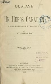 Cover of: Gustave by A. Thomas