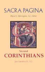 Cover of: Second Corinthians by Jan Lambrecht