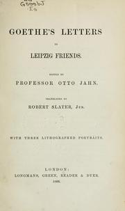 Cover of: Briefe by Johann Wolfgang von Goethe