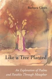 Cover of: Like a tree planted | Green, Barbara