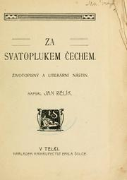Cover of: Za Svatoplukem echem | Jan Blík